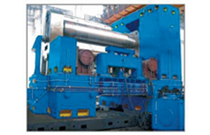 W11XNC Horizontal Down Roller Adjust 3-roller Rolling Machine_2