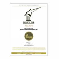 Auweld Industry Star Certificate