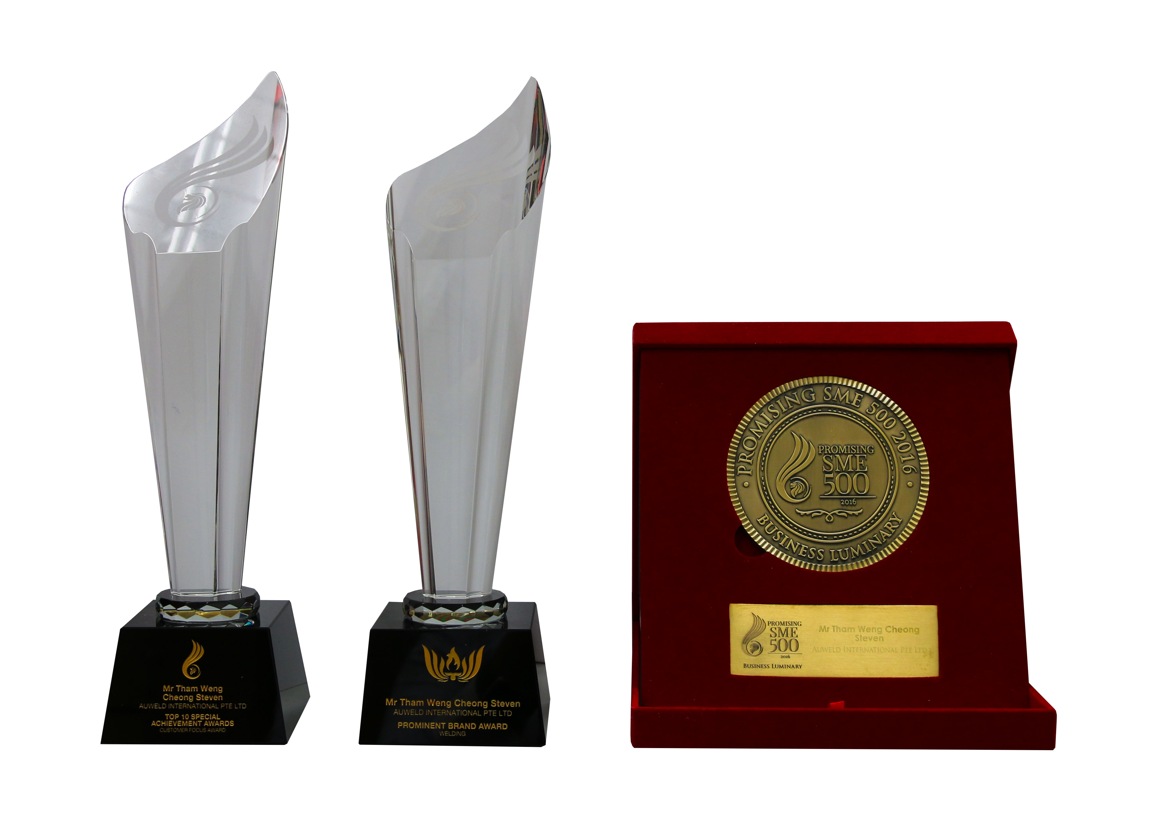 Awards received in 2016