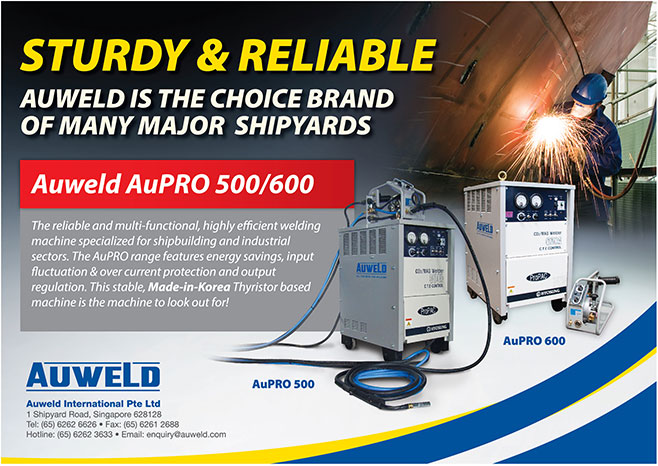 Sturdy & Reliable - Auweld is the choice brand of many major shipyards